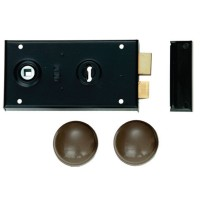 Union 1448 Rim Lock With Handles