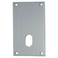 Union 5063 Push Plate 76mm Oval