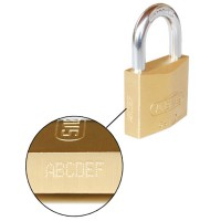 Engraving Service for Padlocks