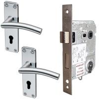 QS Coupé Umea Cylinder Lockset SS