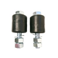 Nylon guide rollers for sliding gates -pair