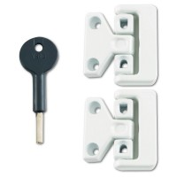 8K106 Window Latch White
