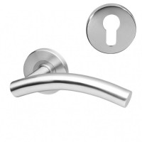 Fortis Handle F09 on Rose SS Euro