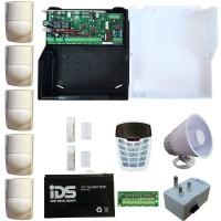 IDS X64 Alarm Kit 16 Zone With 5 PIR