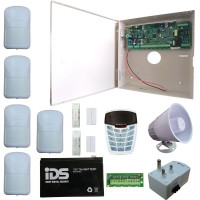 IDS X64 Alarm Kit 16 Zone With 5 PIR