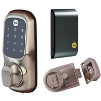 Yale Keyless Smart Lock With Nightlatch