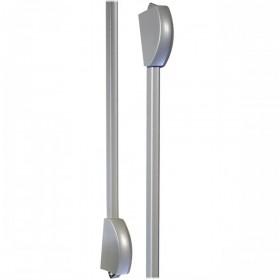 Cisa FAST Vertical Locking latches Grey
