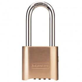 Master Lock Combination Padlock w/ Key Override LS