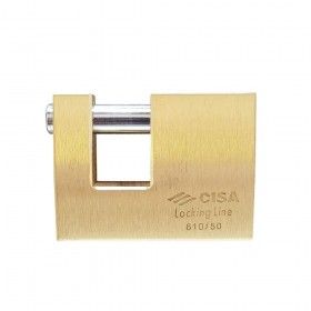 Cisa 21610 Logoline Insurance Lock 52mm