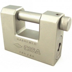 Cisa Straight Shackle Padlock 84mm