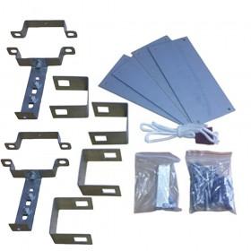 Dace Lazer Garage Door Linear Roll Up Kit Double