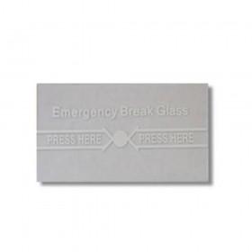 Securi-Prod Fire Alarm Call Point Spare Glass FR04