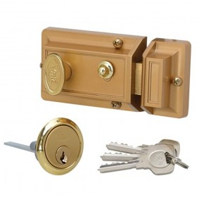 Yale Nightlatch with Cylinder