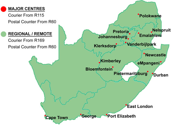 SA Major Centres